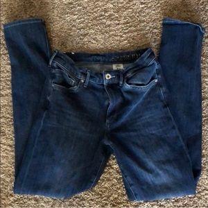 360 Stretch Blue Skinny Jeans